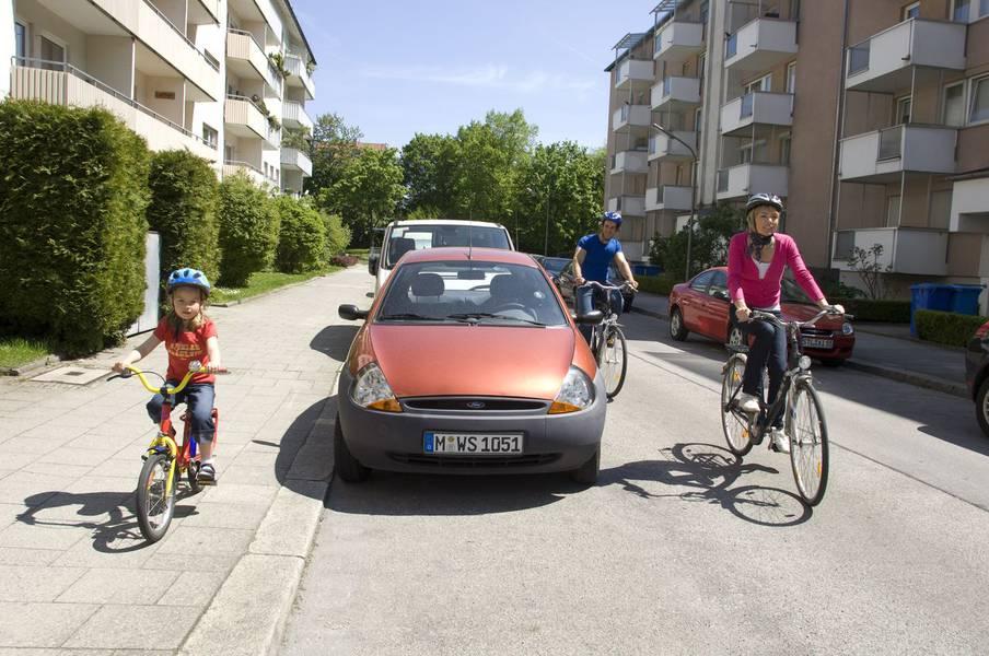 "Trainingsprogramm: ""Kinder im Straßenverkehr"""