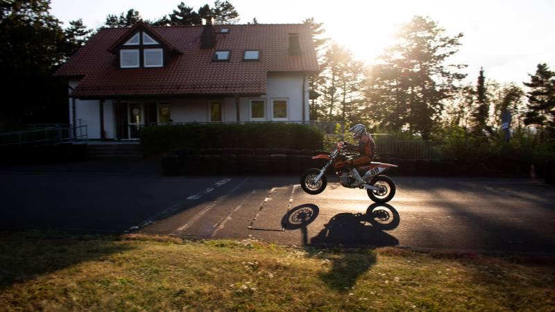 Supermoto, Pitbike und PocketbikeTraining