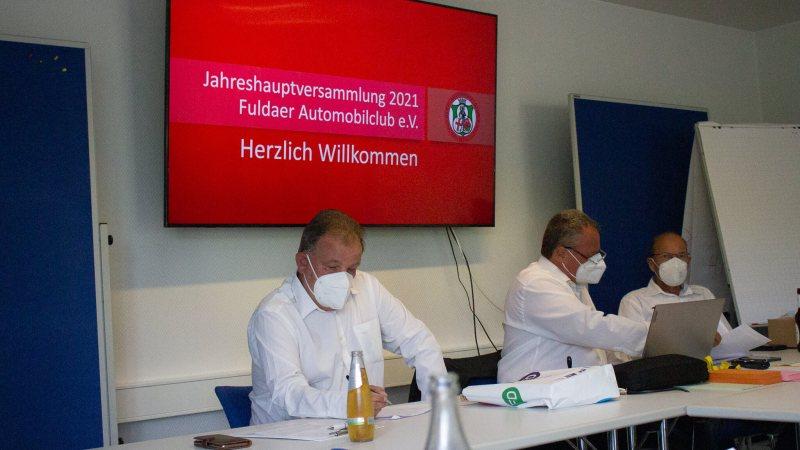 Mitgliederversammlung des Fuldaer Automobilclubs e.V. zum 100-jährigen Bestehen desVereins